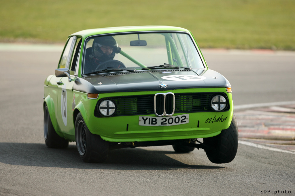 BMW 2002 at the Snetterton chicane
